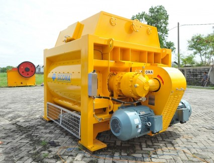 sicoma mixers indonesia products; twin shaft concrete mixer