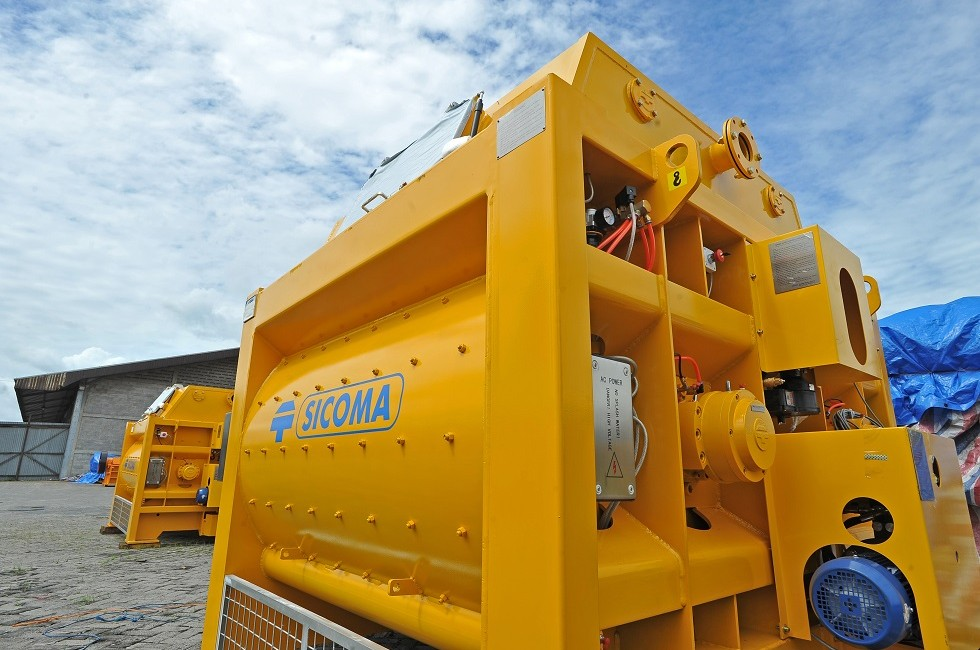 SICOMA Mixers Indonesia Products; SICOMA Planetary Concrete Mixer